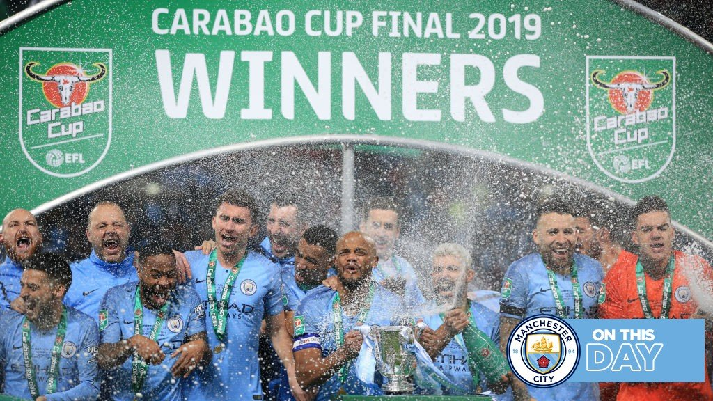 On This Day: City retain Carabao Cup and Dzeko makes it sweet 16