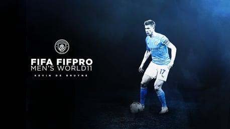 De Bruyne named in FIFPRO World XI