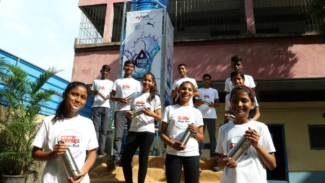 City, PUMA dan Xylem Membangun Menara Air Bersih Pertama di Mumbai