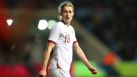 RARING TO GO: Ellen White will link up with City after the World Cup.