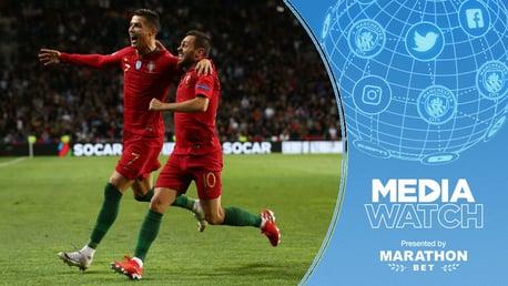 MEDIA WATCH: Bernardo Silva has spoken about the example set by Cristiano Ronaldo.