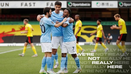 Gallery: Clinical City sting Watford