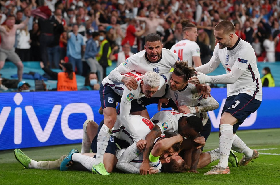 WEMBLEY WONDERS : History is made as England reach the European Championship Final for the first time, following an extra-time triumph over Denmark