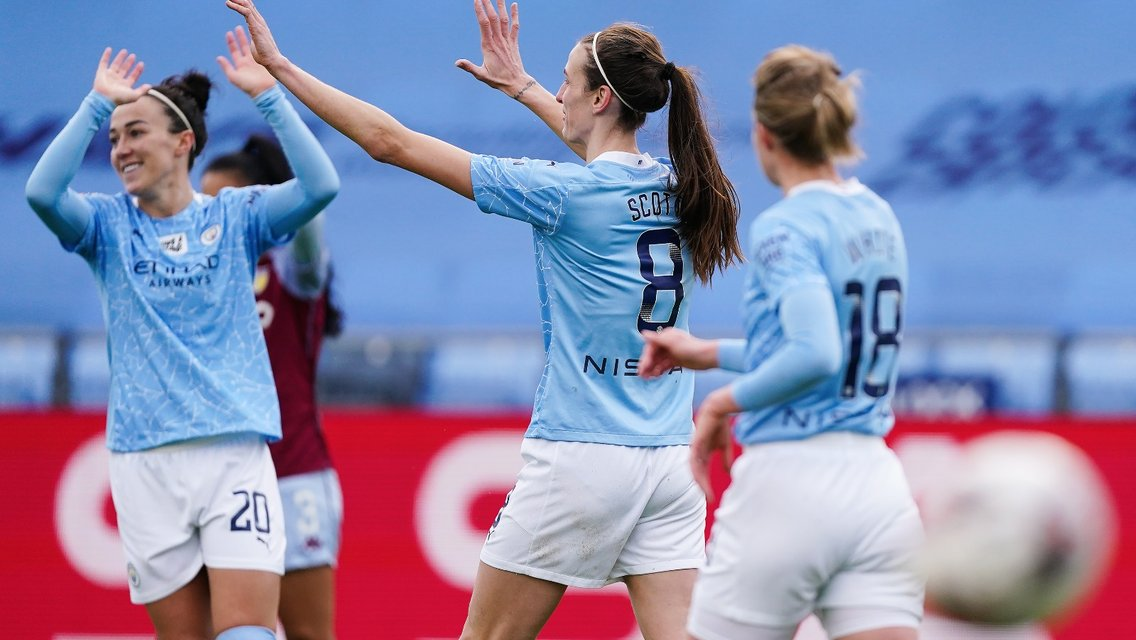 Seventh Heaven as City run riot to vanquish Villans