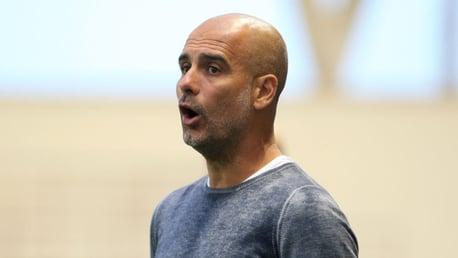 Guardiola pleased by Blackpool test