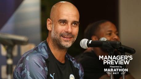 PRESS CONFERENCE: Pep Guardiola addresses the media
