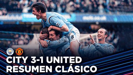 Resumen clásico: City 3-1 United 2006