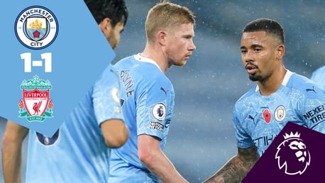 Full-match replay: City 1-1 Liverpool