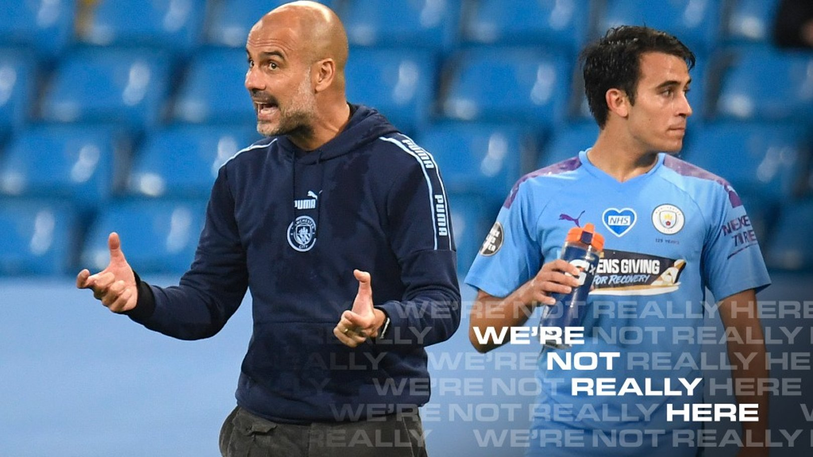 Pep Guardiola provides Eric Garcia update