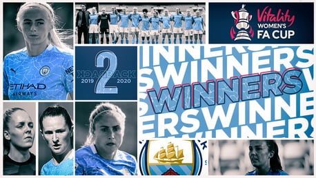 Everton 1-3 City: Women's FA Cup final reaction and stats