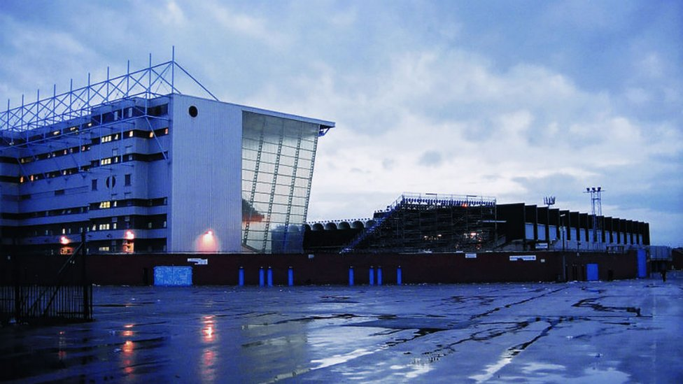END GAME: A poignant scene looking back at our famous old ground