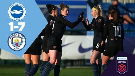 Brighton 1-7 City: Full-match replay