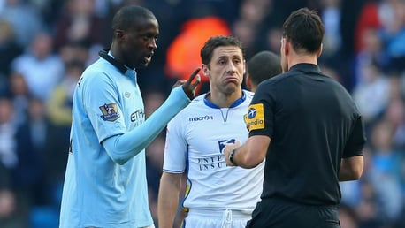 Brown recalls nightmare afternoon against Yaya Touré