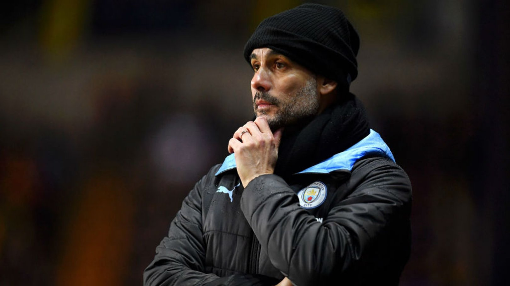 PEP TALK: The boss says City face a tough few weeks after beating Oxford in the Carabao Cup