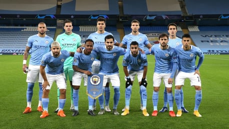 SQUAD GOALS: The starting XI