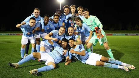 Watch our U18s lift the FA Youth Cup!