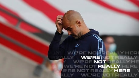 "Pep: ""We couldn't have done much more"""