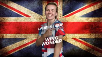 Lauren Hemp: Wing Wonder