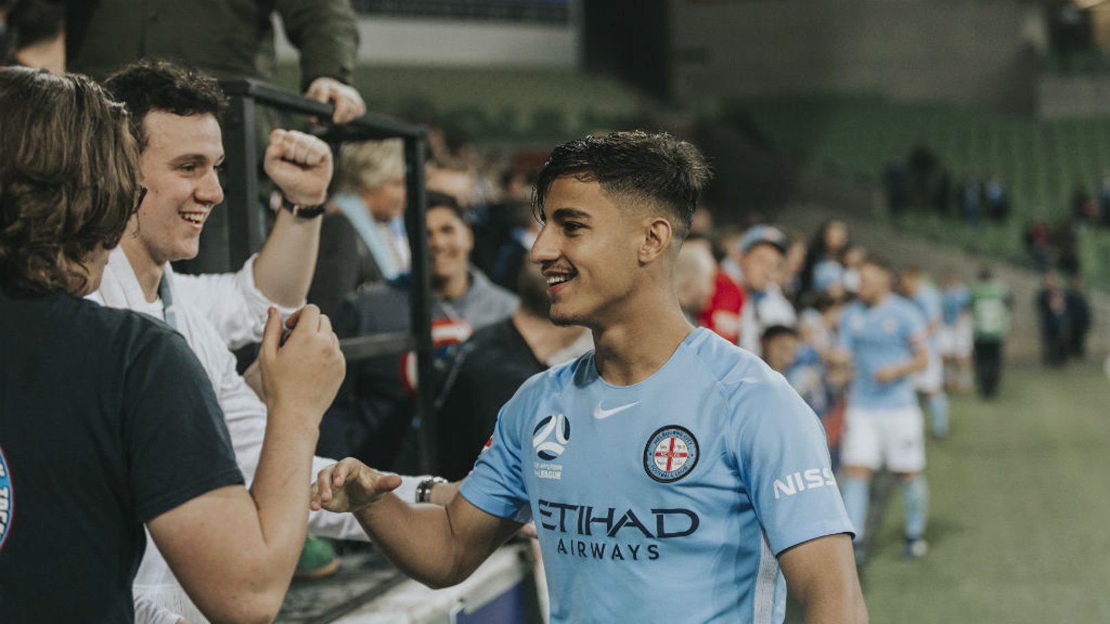 DEAL DONE: City are delighted to announce the signing of Daniel Arzani from Melbourne City FC.