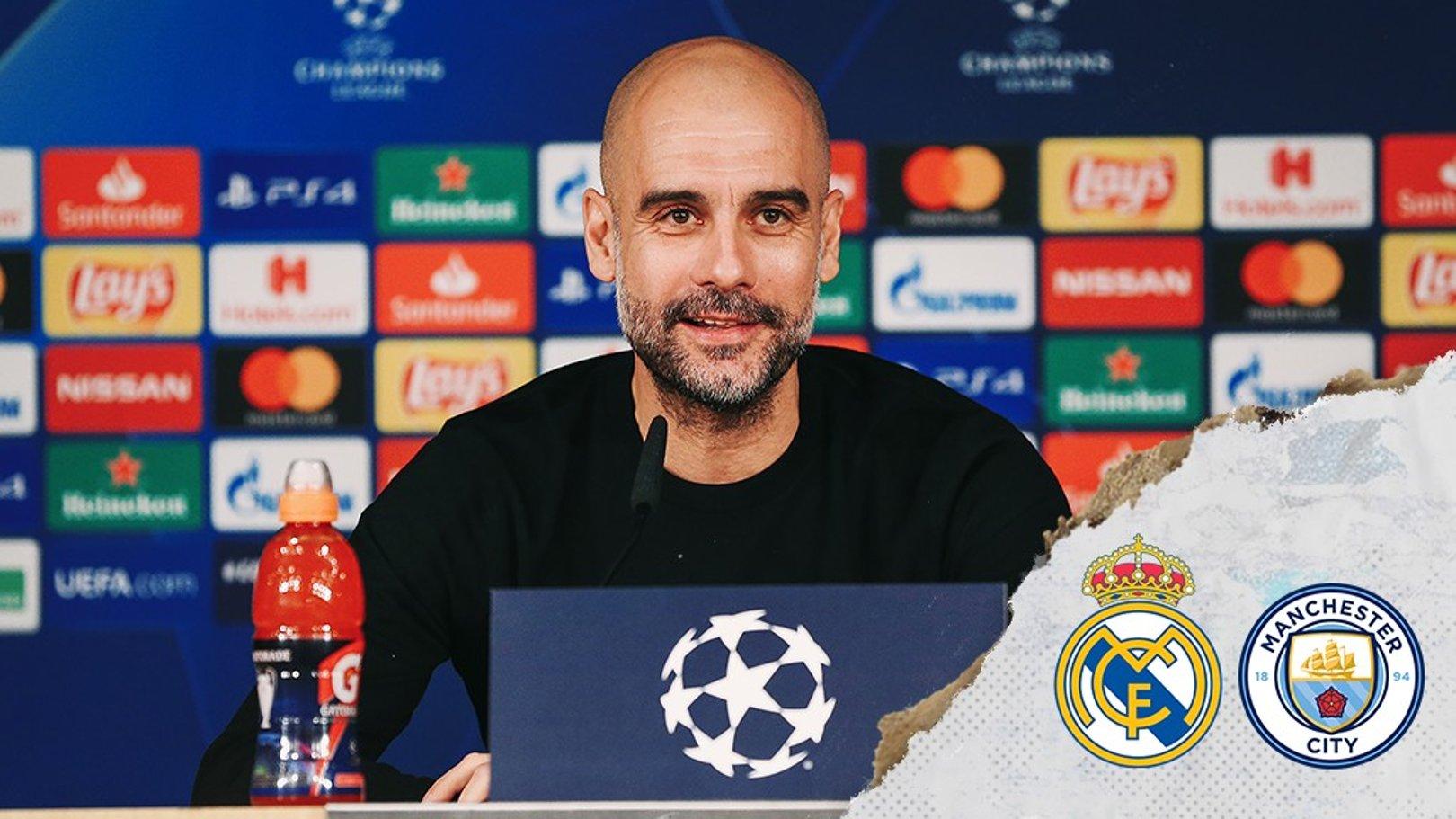 Real Madrid v City: Guardiola updates on Sterling