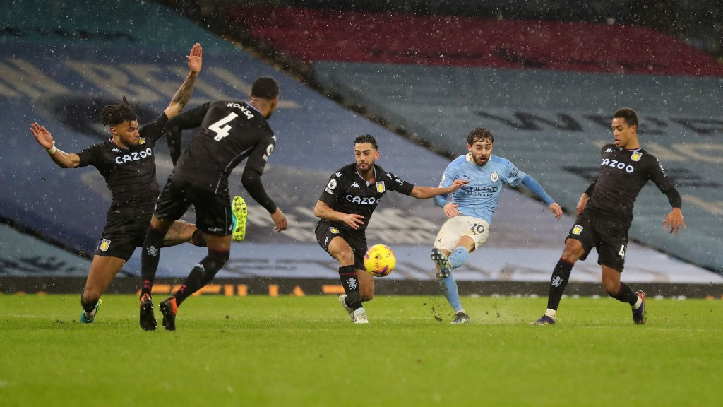 City leave it late to beat Villa