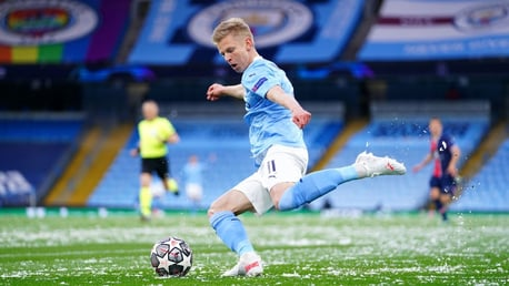 Guardiola impressed by consistent performer Zinchenko