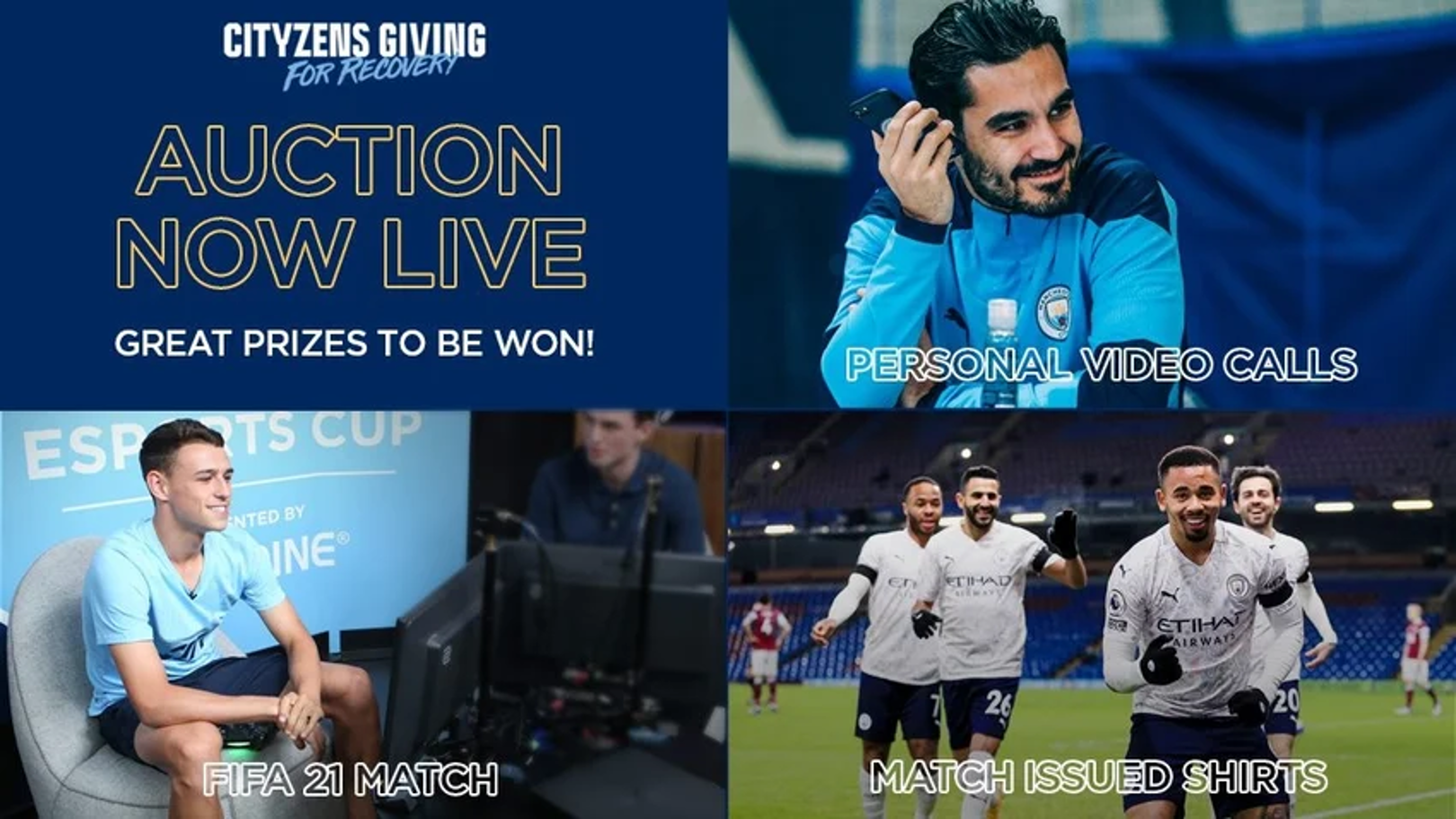 Cityzens Giving for Recovery Auction countdown begins