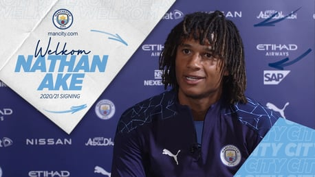 Nathan Ake's first interview