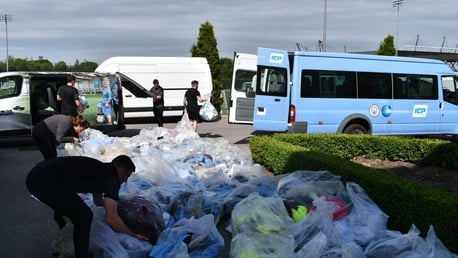 CITC donate thousands of items of kit to local community