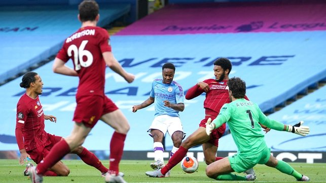 STERLING WORK : Raz grabs our second ten minutes later, finishing expertly whilst under pressure.