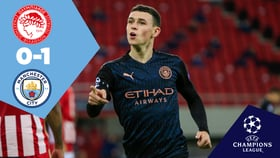 Full-match replay: Olympiakos 0-1 City