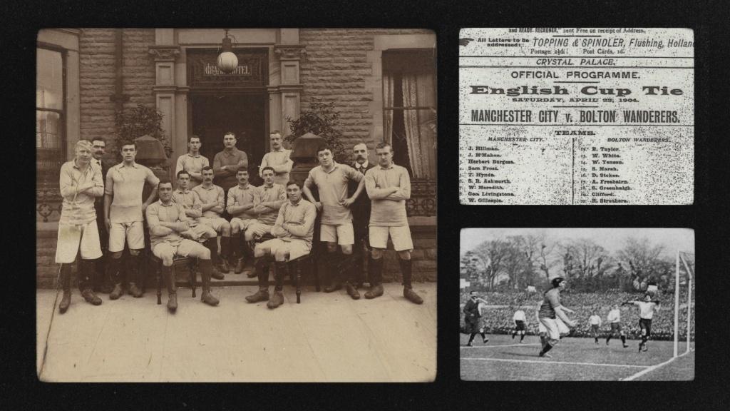 ANNIVERSARY: Celebrating 125 years of Manchester City.