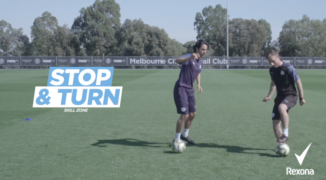 1v1 challenge 4: Stop and turn