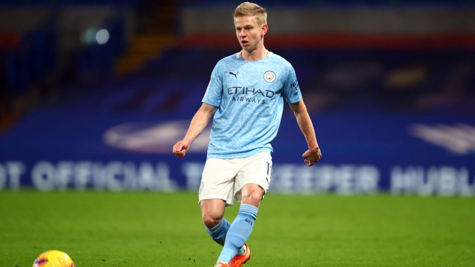 Oleksandr Zinchenko: Top spot would be a confidence boost