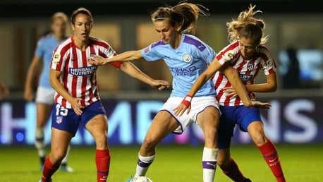 ALL TO PLAY FOR: Jill Scott says City will head to Madrid looking to win
