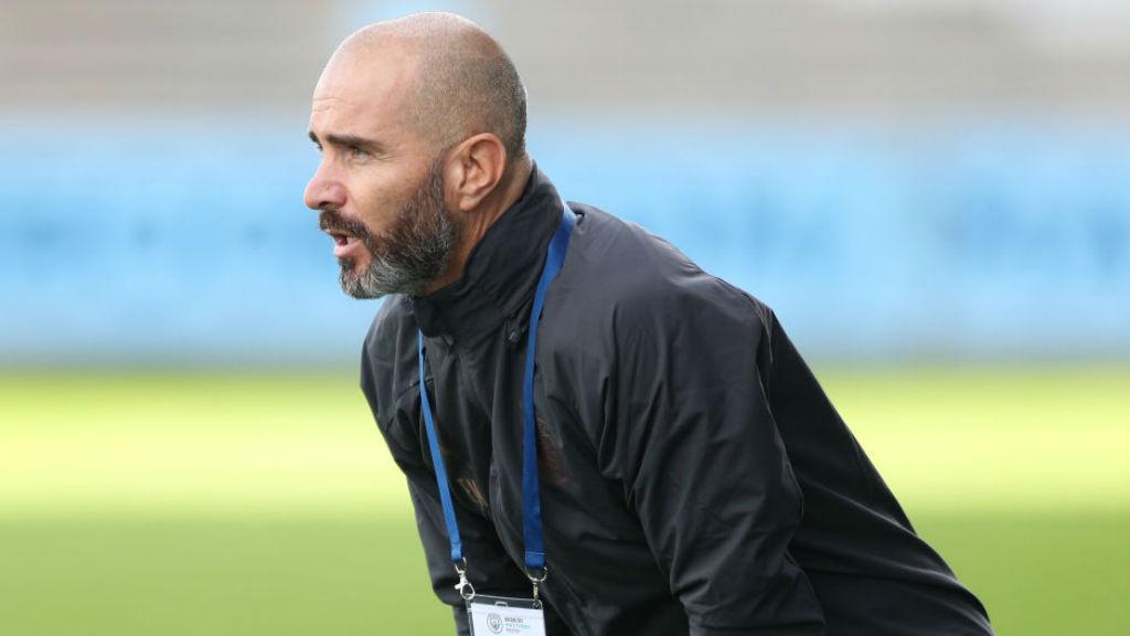 DELIGHT: For head coach Enzo Maresca