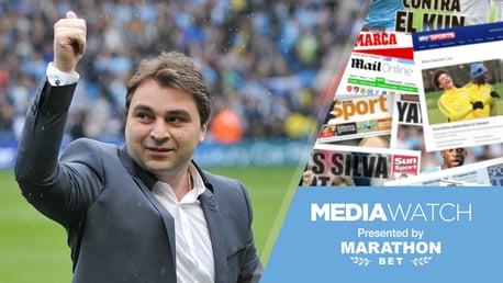 WISH: Georgi Kinkladze says he would love to play in City's current side...