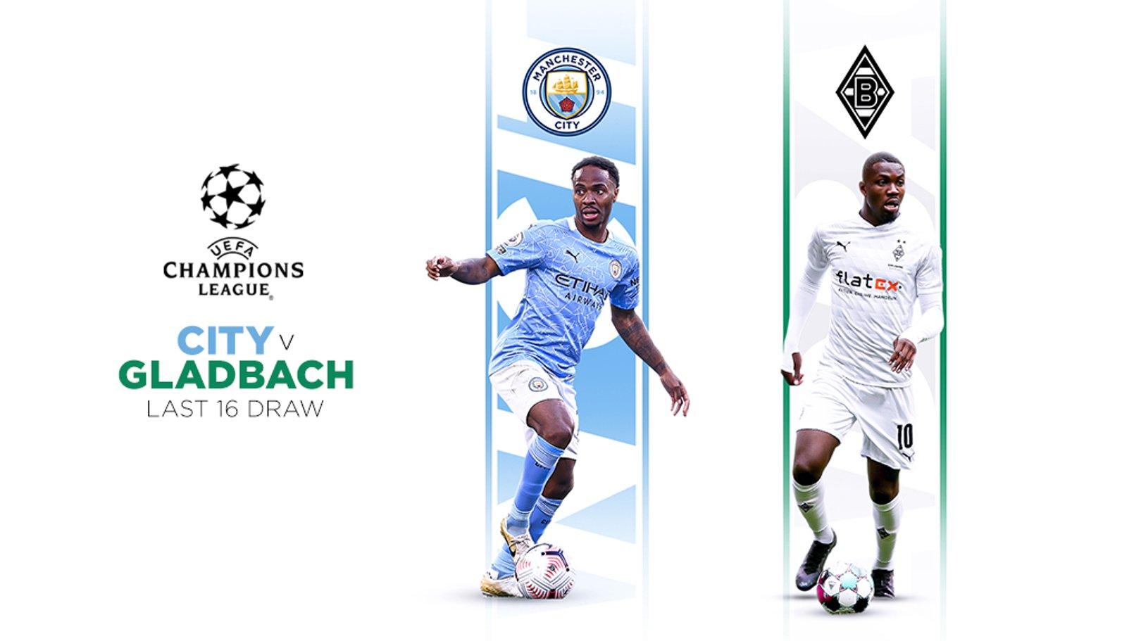 City vs Borussia Mönchengladbach en huitièmes de finale de la LDC