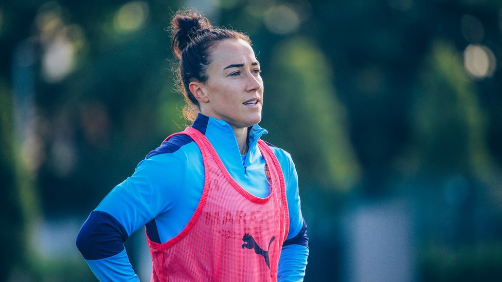 WINNING HABIT: Lucy Bronze has spoken of her excitement about City's prospects this season