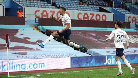 Aston Villa 1-2 City: En bref