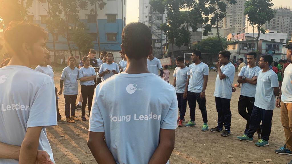 인도 콜카타에서 Cityzens Giving 프로그램을 지원하는 TECNO Mobile