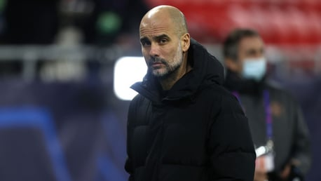 Pep urges caution as City power on