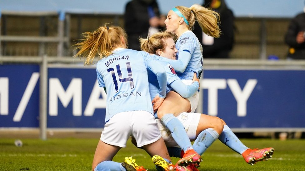ROYALS RUMBLED: A dramatic 87th minute winner from Chloe Kelly finally downs a spirited Reading to keep our title hopes alive and kicking at the end of March