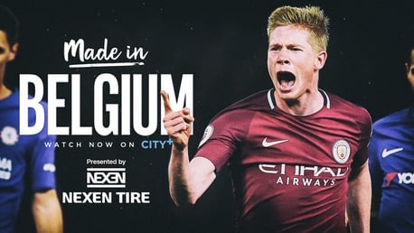 Watch Kevin De Bruyne documentary - Made in Belgium - on CITY+ now