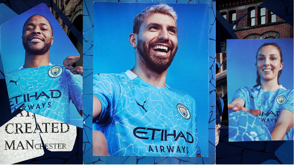 Novo equipamento PUMA do City inspirado nos mosaicos de Manchester
