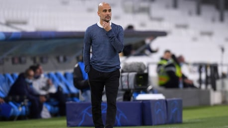 Pep Guardiola: We didn't let Marseille play