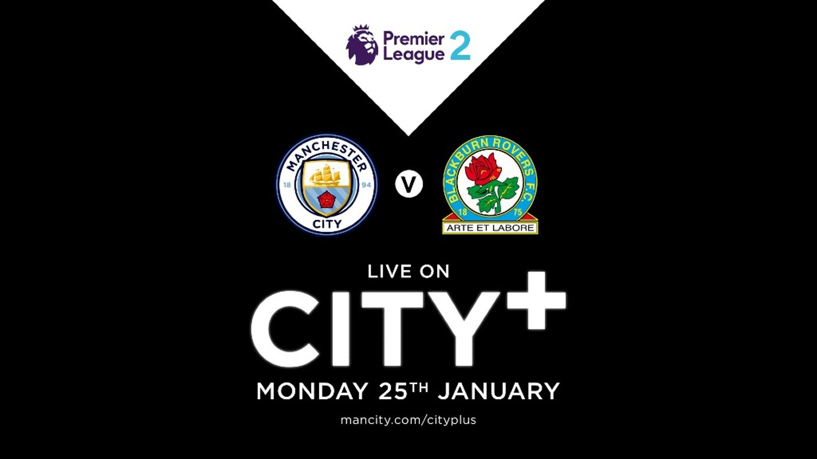 Watch EDS v Blackburn on CITY+