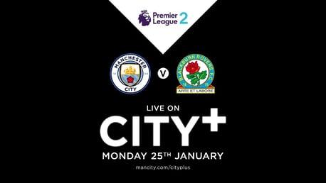 Watch EDS v Blackburn on CITY+