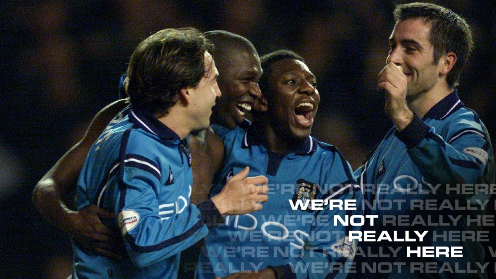 Goater and Horlock join forces for Swansea We're Not Really Here