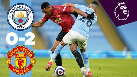 City 0-2 United: resumen breve